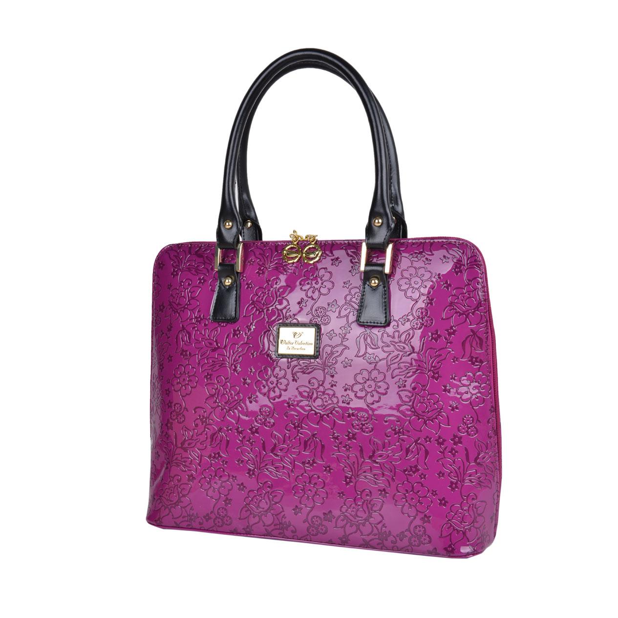 V115 leather handbag spring summer 2015 Walter Valentino ...